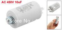 Washing Machine AC 450V 10uF 8mm Thread Non Polar Motor Running Capacitor