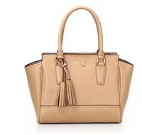 Free shipping New Arrival Fashion Popular  Handbag  Bag  Genuine Leather Purse Beige Color Shoulder 4 colors 320