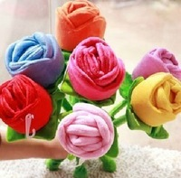118 rose plush toys beautiful rose curtain peanut gift
