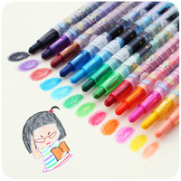 Hearts . stationery rotary crayon multicolour cartoon crayon child water wash