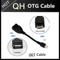 Mini 5 pin OTG cable 18cm,Mini 5 pin Male to USB Female Adapter Cable Black for Samsung Galaxy S4