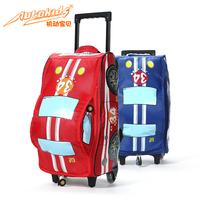 Baby car style child trolley luggage trolley bag primary school students school bag