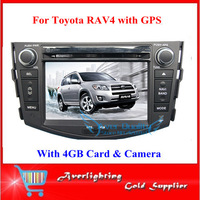 7 inch touch screen Toyota RAV4 DVD GPS for Toyota RAV4 4GB SD card rear view camera free