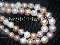 Big 2strs A 12 14mm Luster Natural Freshwater Pearl