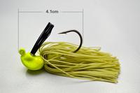 Free shipping !  Fishing lures fishing tool lead head jig   8G  fishing bait