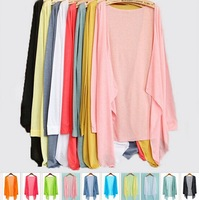 New 2013 Women Clothing  Chiffon Top Loose Shirts Sheer Prevent Bask in Sexy  7Kind Of  Colors And free gift[freeshipping]
