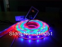 15m 300 LED 3528 SMD 12V RGB flexible light 60 led/m,LED strip ,Free Shipping