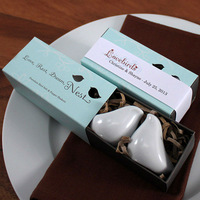 Free Shipping, 50sets Love Bird Salt & Pepper Shaker Favors Wedding Favor, On Sale!!!