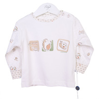 Free shipping Baby t-shirt buckle set baby spring and autumn long-sleeve T-shirt child spring and autumn children's clothing