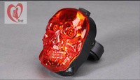 bicycle Laser lights Bike taillight lamp skull mountain bike cycling accessories cycling light safelightFree Shipping