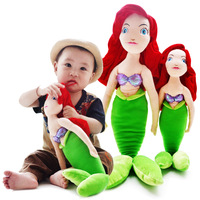 Free shipping -wholesale Mermaid plush toys dolls beauty fish doll dolls for kids/children/baby gift birthday party.