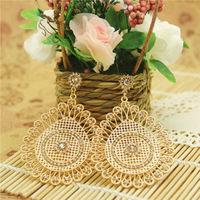 Latest Vintage Earrings of African Wedding Style Women Statement Jewelry Free Shipping Nickel Free 1203945