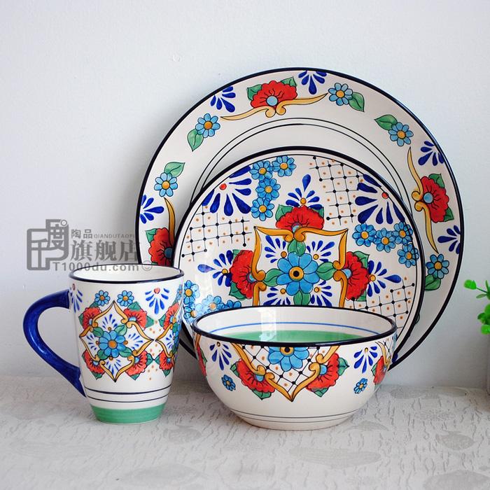 Online kopen wholesale decoratieve aardewerk schalen uit china decoratieve aardewerk schalen - Decoratie schotel ...