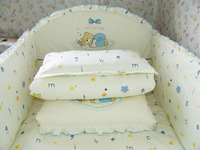 Baby bedding 100% cotton sheets duvet cover bed around bed by set pillow