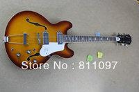 ES335 Semi-hollow jazz electric guitar sunset color VS