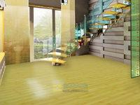 Compound wood floor strengthen the household 12mm sealing wax waterproof big circular arc wear-resistant bamboo