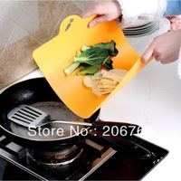 Free Shipping 3pcs/lot Cutting Board Plastic Chopping Block Cutting Board Folding Cutting Board Wholesale