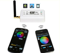 Wifi LED RGB Controller, Iphone,Ipad,Android Mobile Phone 2.3 Version or IOS System,DC12V-24V,Without Remote,Easy Use