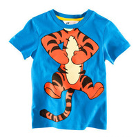 Cute baby boy top/Exclusive cartoon tiger baby t-shirt/Sports style