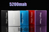 2013 new arrival high quality 5200 mah backup external battery charger power bank  for iphone,ipad, samsung,nokia,etc