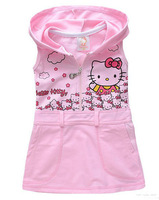 Hello Kitty girls dress/Girls summer dress/2013 hot selling style