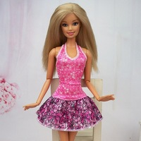 Fashion Evening Dress Party  Clothes Skirt  for Barbie Doll