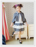 Short in size fashion chilmie princess twinset one-piece dress 108 80