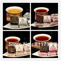 New product 40 pcs mini puer tea,4 kinds tea puer,each kind pu er 10 pcs, health care yunnan puer black tea,free shpping