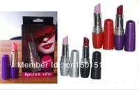Lipstick Vibrator Discreet Mini Bullet Vibrator Vibrating Lipsticks Lipstick Jump Eggs Sex Toys Colors Free Shipping 50pcs/lot
