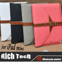 For Apple iPad mini Case in Fashion Design and Cheap Protective Cover Case for iPad with 4 Colors, Free Shipping! Top Grade.