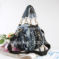 New arrival 2013 female denim handbag cross-body canvas bag women's one shoulder fashion handbag 59091