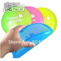 Pet dog training Frisbee, standard plastic Frisbee, S, M, L size, dog toys