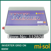 600W Inverter (DC22V-60V to 110VAC), grid tied, for PHOTOVOLTAIC system