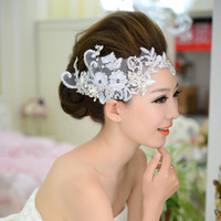 The bride hair accessory the wedding hair accessory the bride accessories handmade lace wedding accessories hair bands popular