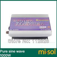 1000W Inverter 12V/120V/60Hz, PURE SINE WAVE, for solar system, for photovoltaic