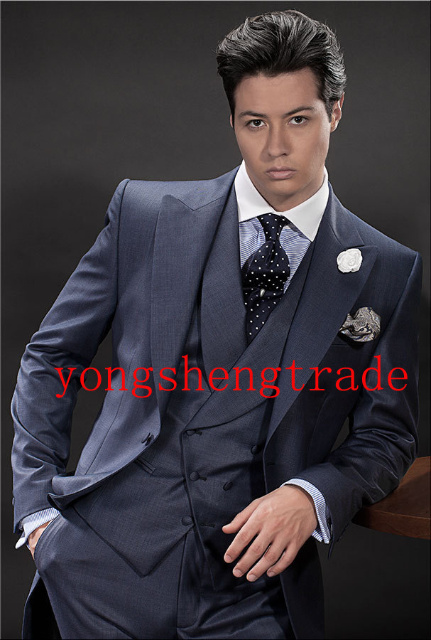 Custom Made Wedding Suit Champagne Wedding Suits Best Man ...