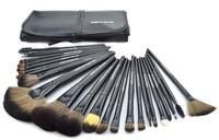 Professional cosmetic tool 24PCS Brush set with cosmetic bag sythetic brush kit foundation eyeshadow eyebrow brush FREE SHIPPING