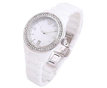 2013 newest branded Fashion watch Women Elegant Lady Quartz ceramic  Strap Diamond Face Hot Sale Vogue High Quality Watch