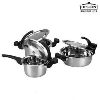 304 stainless steel cookware wok flat bottom pot cooking pot smokeless cooking pots and pans