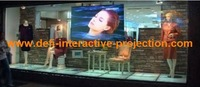 1 square meter  light gray rear adhesive projection screen film the best quality in China