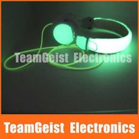 High quality Cool Fashion Luminous headset SUPER-BASS Headphone Stereo HI-FI earphone for Party Bar Use FEDEX DHL Free shipping