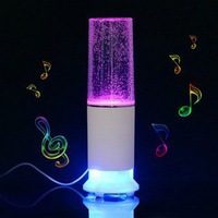 LED Dancing Water Speakers Watershow Speakers With Touch Lamp