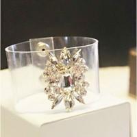 B105  Fashion transparent pvc bracelet fashionable soft pvc bracelet 6PCS/LOT free shipping