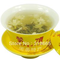 wholesale fragrant jasmine green tea Organic jasmine green tea   250gfreeshipping