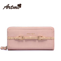 Free Shipping 2013 Designer summer purse sweet gentlewomen women's bow handbag color block bag coin purse long wallet design