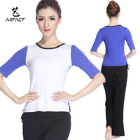 D282 k069 summer half sleeve yoga clothes fitness clothing dance clothes