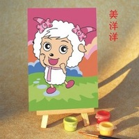 Diy digital oil painting diy oil painting child painting 10 15