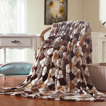 Winter thick coral fleece blanket Casual flannel blanket  Single or double blankets Children's BlanketsWarm velvet sheets