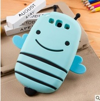 Honey Bee silicone case cover shell for samsung S3 i9300. soft protective cover