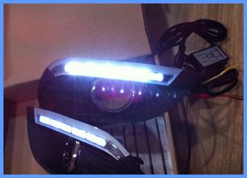 For Ford Focus 2007-2011 High quality DC12V Led daytime running light for front fog light kit,waterproof